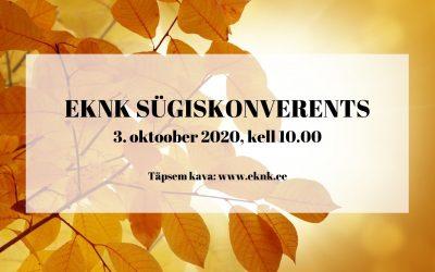 EKNK Sügiskonverents 2020