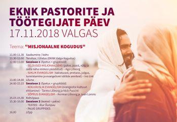 EKNK Pastorite ja töötegijate päev Valgas